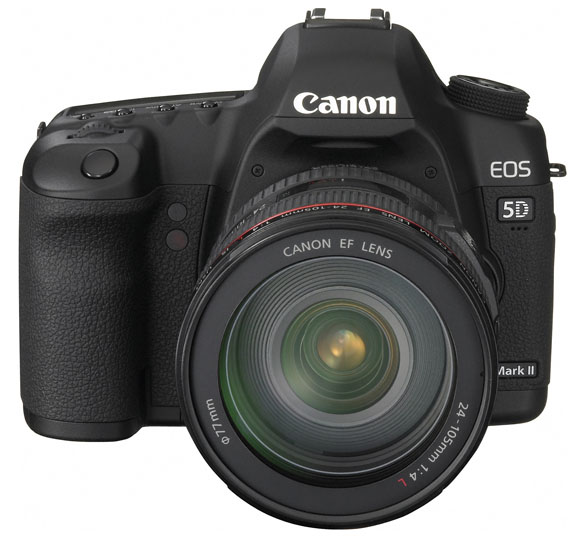 Canon EOS 5D Mark II Front