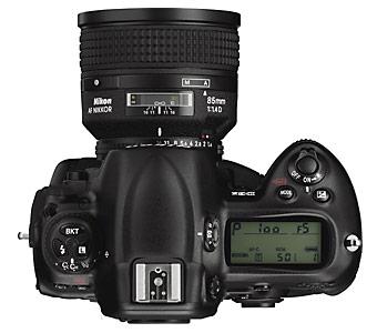 Nikon D3x Top