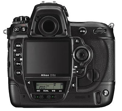 Nikon D3x back