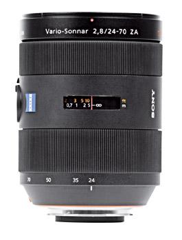 Sony 24-70mm f2.8 lens