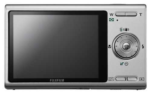 Finepix z200fd back